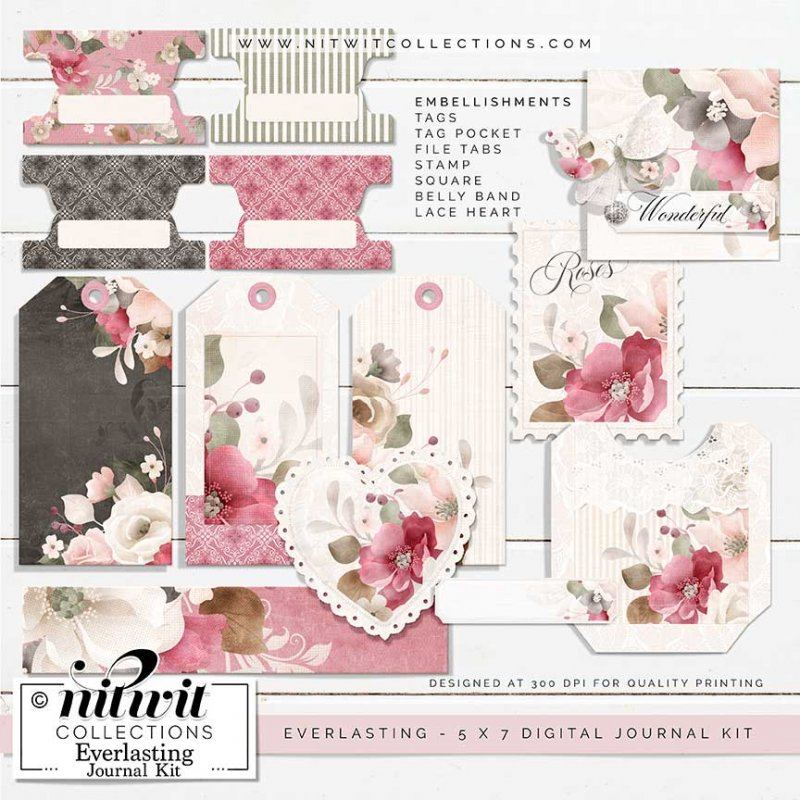 Journal Kit - Everlasting - Click Image to Close
