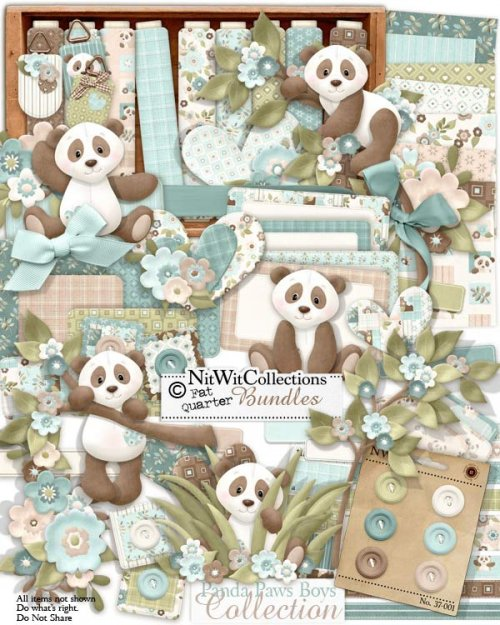 FQB - Panda Paws Boys Collection