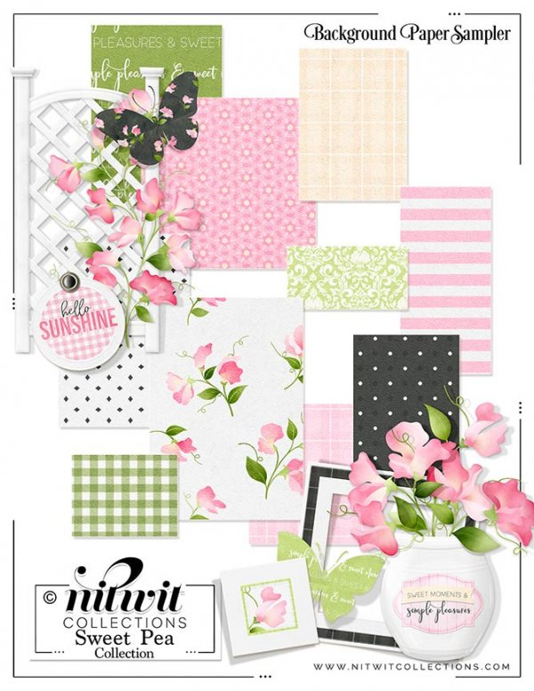 FQB - Sweet Pea Collection - Click Image to Close