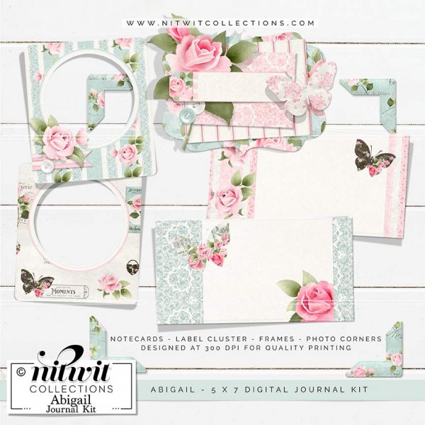 Journal Kit - Abigail - Click Image to Close