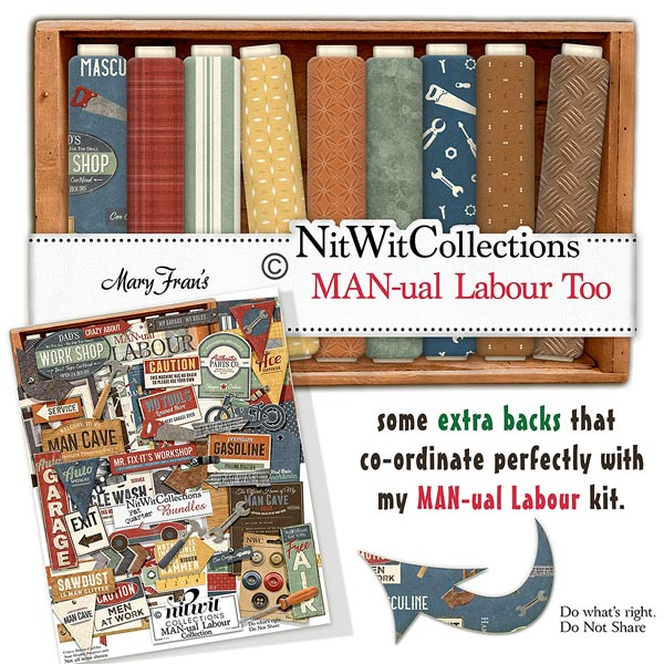 Bundled - MAN-ual Labour Collection - Click Image to Close