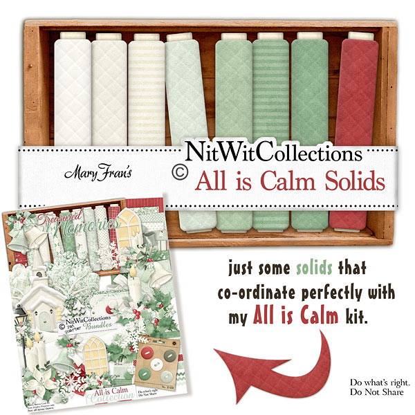 Bundled - All is Calm Collection - Click Image to Close