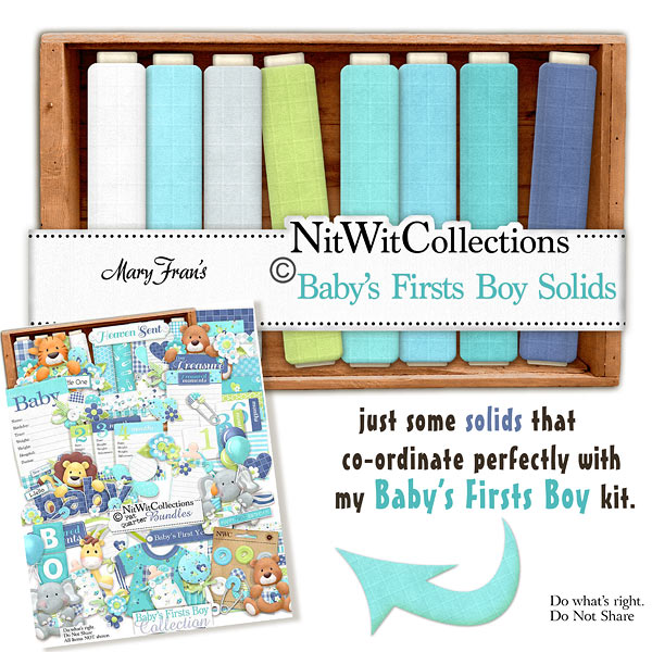 Bundled - Baby's Firsts Boy Collection - Click Image to Close