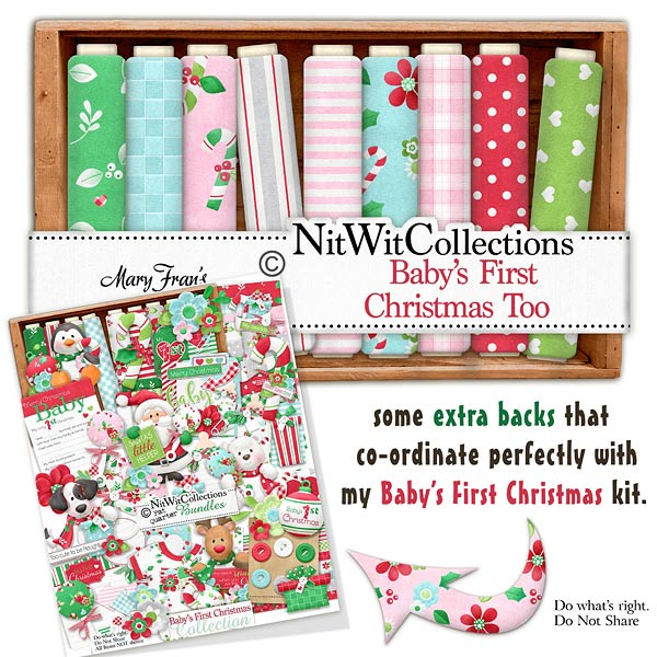 Bundled - Baby's First Christmas Collection - Click Image to Close