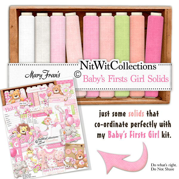 Bundled - Baby's Firsts Girl Collection - Click Image to Close
