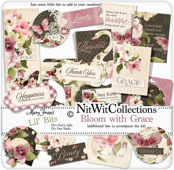 Bundled - Bloom With Grace Collection - Click Image to Close