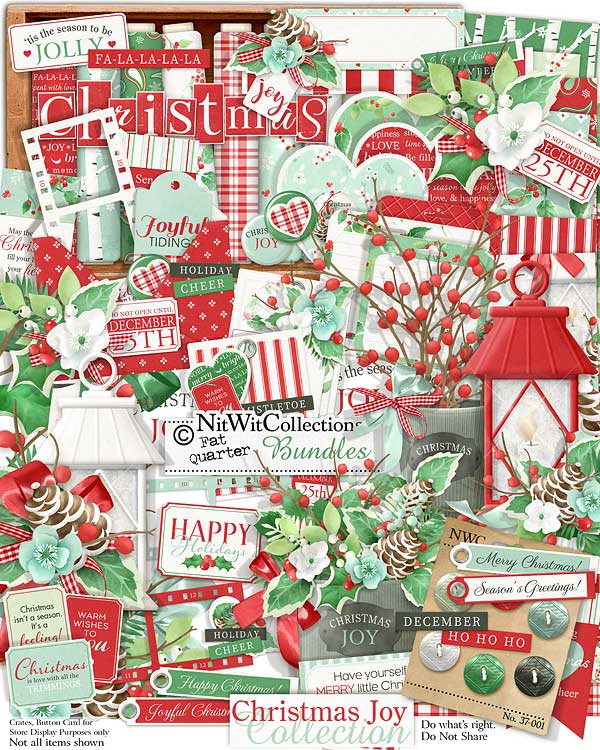 Bundled - Christmas Joy Collection - Click Image to Close
