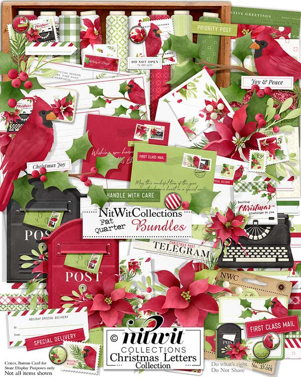 Bundled - Christmas Letters Collection - Click Image to Close