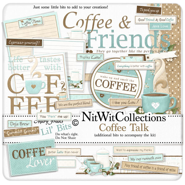Bundled - Coffee Talk Collection - Click Image to Close