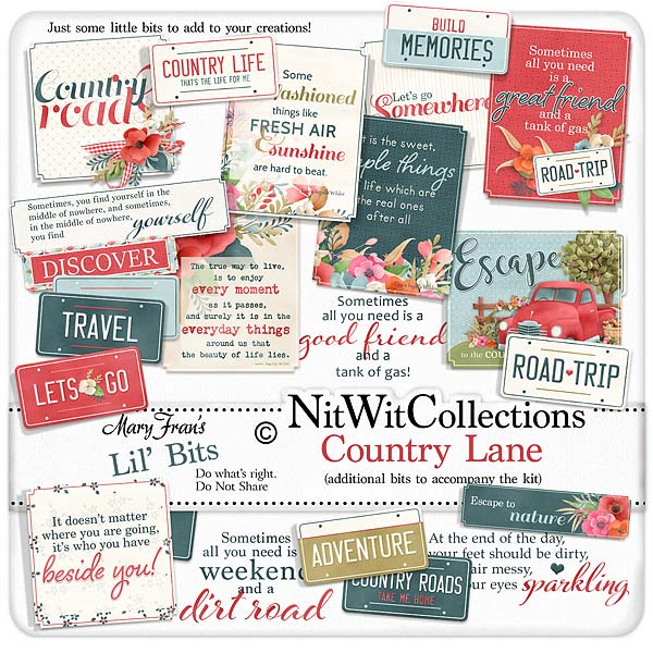 Bundled - Country Lane Collection - Click Image to Close