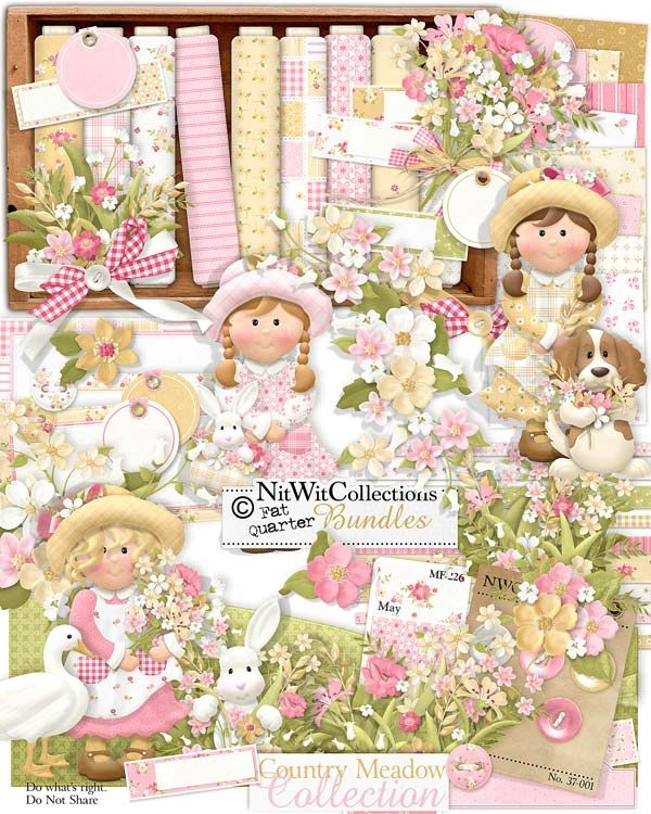 Bundled - Country Meadow Collection - Click Image to Close
