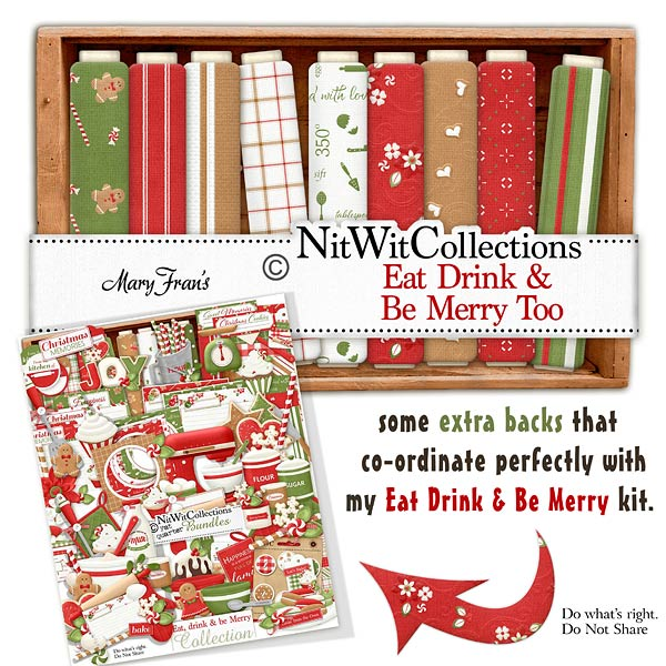 Bundled - Eat Drink & Be Merry Collection - Click Image to Close