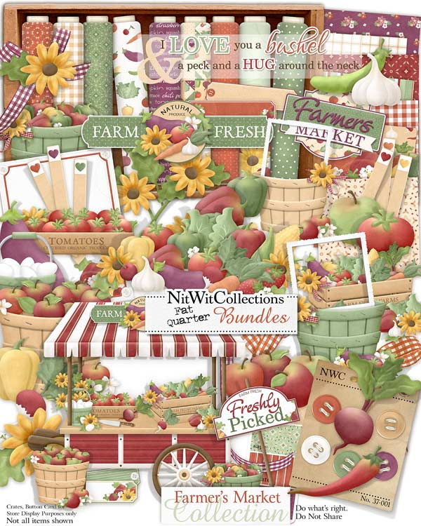 Bundled - Farmer's Market Collection - Click Image to Close