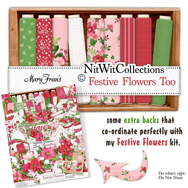 Bundled - Festive Flowers Collection - Click Image to Close