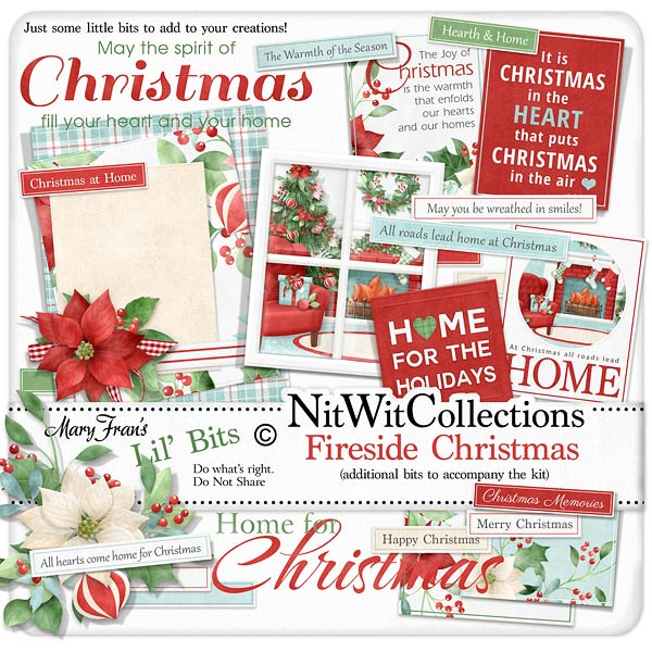 Bundled - Fireside Christmas Collection - Click Image to Close