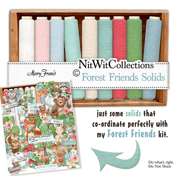 Bundled - Forest Friends Collection - Click Image to Close