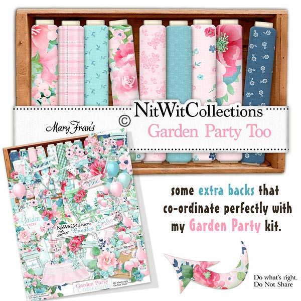 Bundled - Garden Party Collection - Click Image to Close
