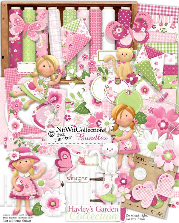 Bundled - Hayley's Garden Collection - Click Image to Close