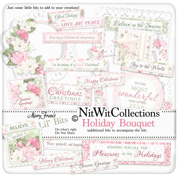 Bundled - Holiday Bouquet Collection - Click Image to Close