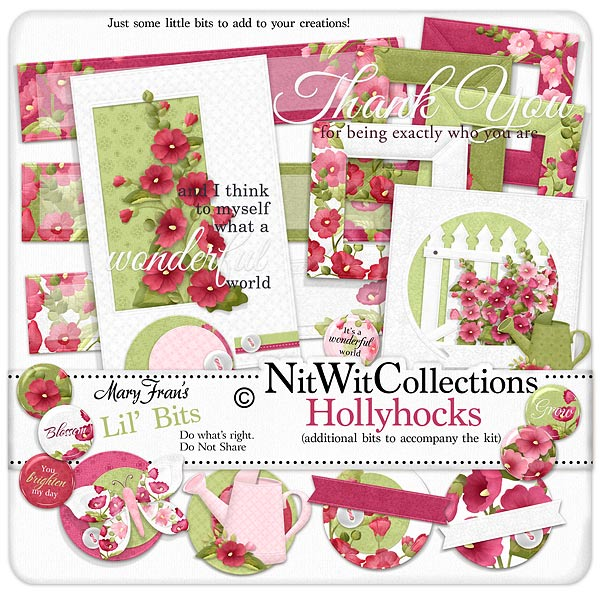 Bundled - Hollyhocks Collection - Click Image to Close