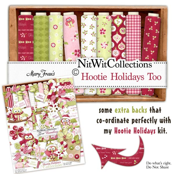 Bundled - Hootie Holidays Collection - Click Image to Close