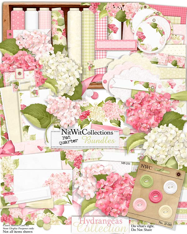 Bundled - Hydrangeas Collection - Click Image to Close