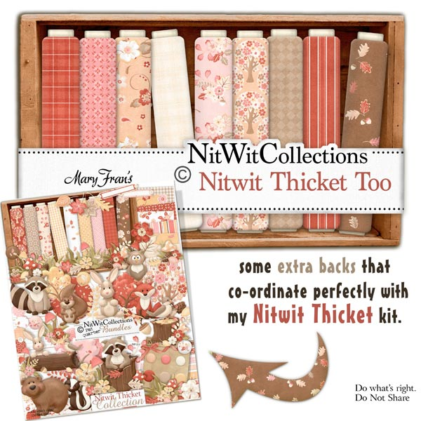 Bundled - Nitwit Thicket Collection - Click Image to Close