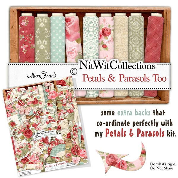 Bundled - Petals & Parasols Collection - Click Image to Close
