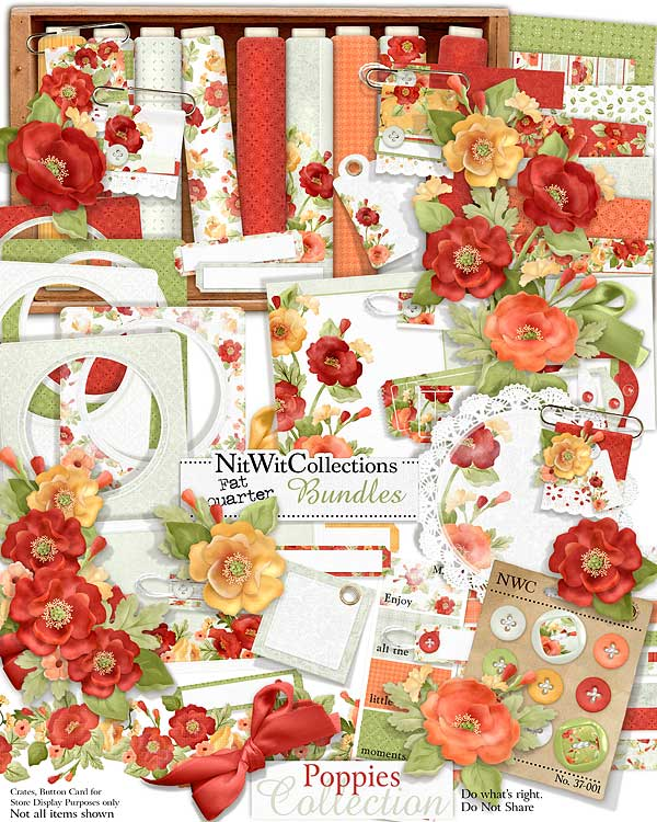 Bundled - Poppies Collection - Click Image to Close
