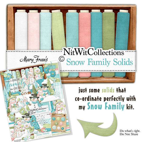 Bundled - Snow Family Collection - Click Image to Close