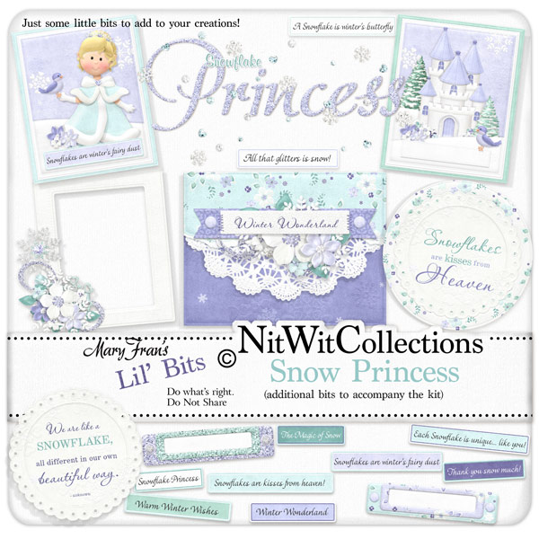 Bundled - Snow Princess Collection - Click Image to Close