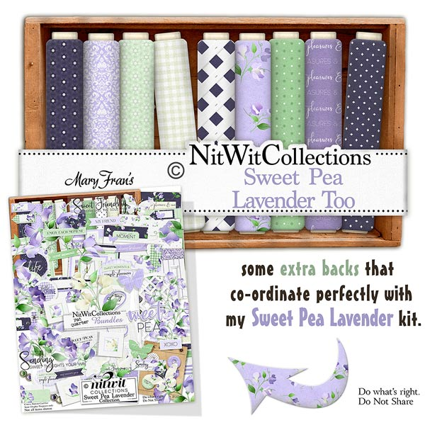 Bundled - Sweet Pea Collection - Click Image to Close