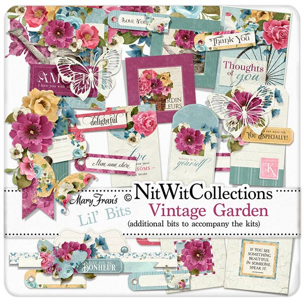 Bundled - Vintage Garden Collection - Click Image to Close