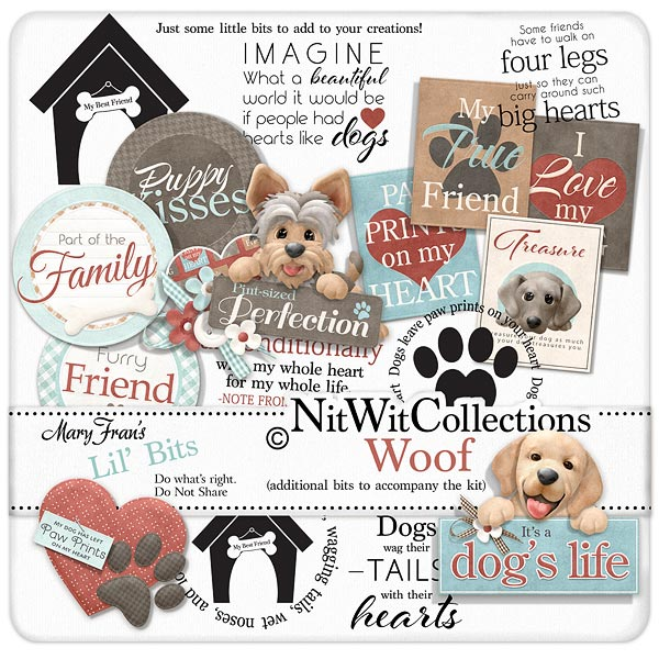 Bundled - Woof Collection - Click Image to Close