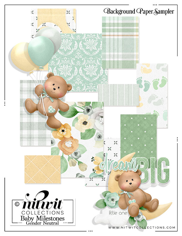 FQB - Baby Milestones Gender Neutral Collection - Click Image to Close