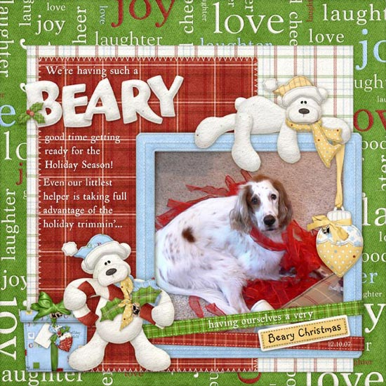 FQB - Beary Christmas Collection - Click Image to Close