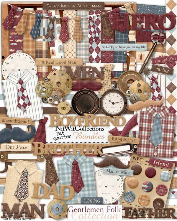 fqb - gentlemen folk collection - nitwit digital kits