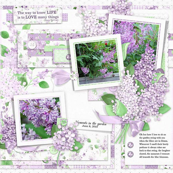 FQB - Lilac Blossoms Collection - Click Image to Close