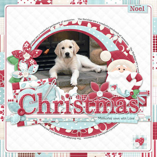 FQB - Patchwork Christmas Collection - Click Image to Close