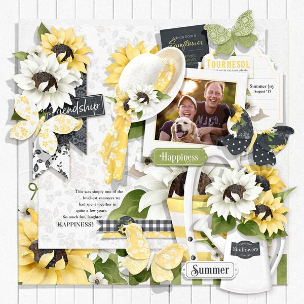 FQB - Sunflower Cottage Collection - Click Image to Close