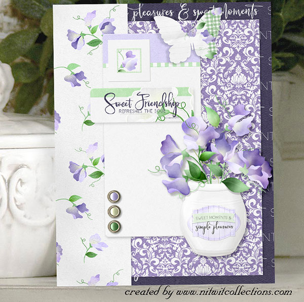 FQB - Sweet Pea Lavender Collection - Click Image to Close