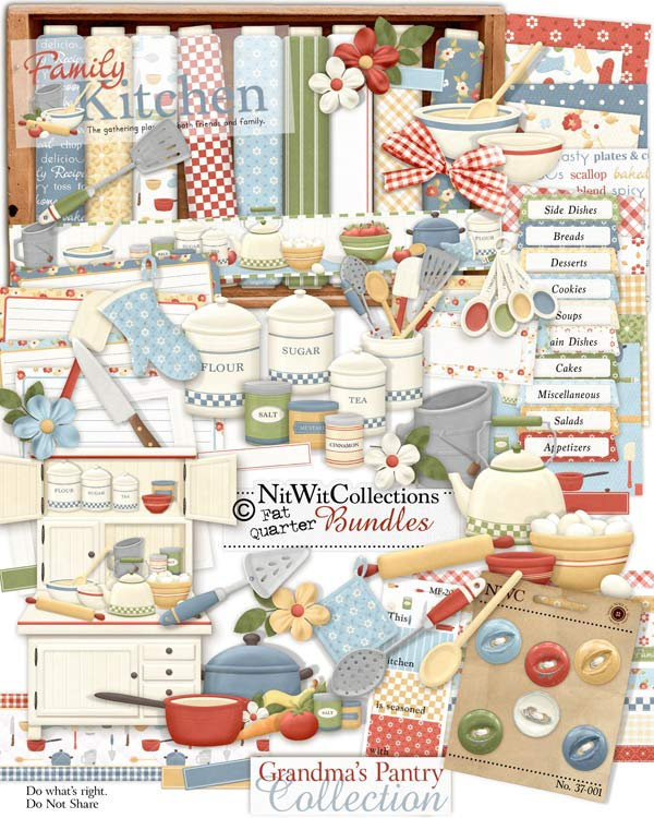 Bundled - Grandma's Pantry Collection - Click Image to Close