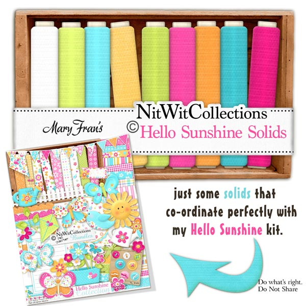 Bundled - Hello Sunshine Collection - Click Image to Close