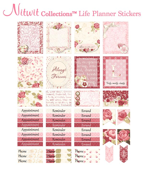 Always & Forever Collection - Life Planner Stickers - Click Image to Close
