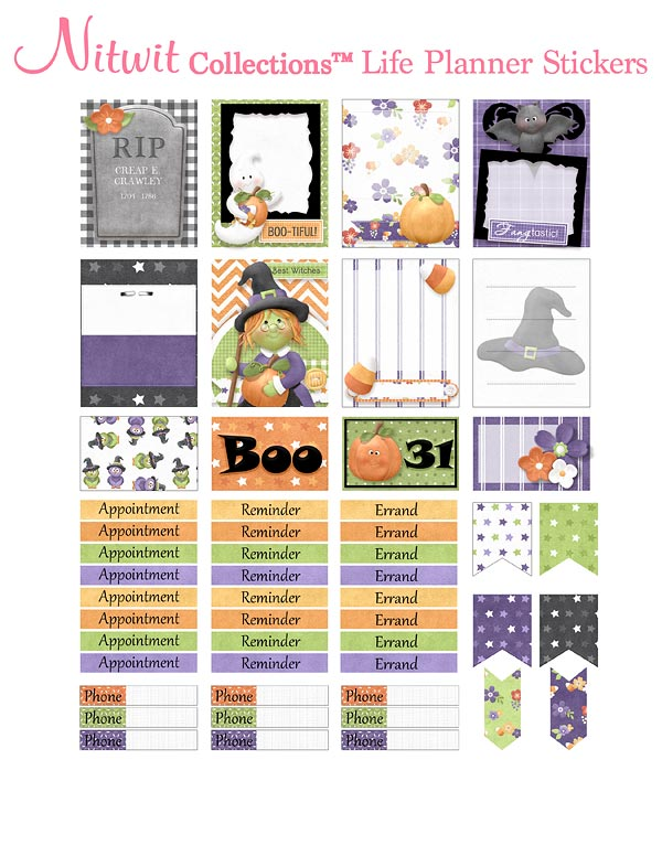 Fly By Night - Life Planner Stickers - Click Image to Close
