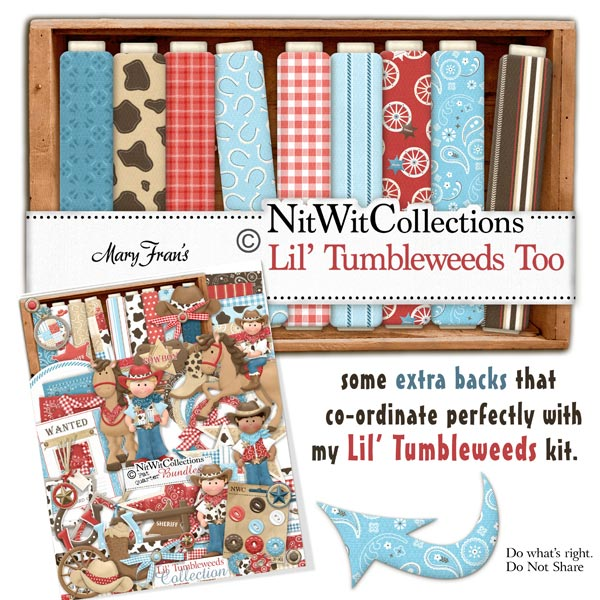 Bundled - Lil' Tumbleweeds Collection - Click Image to Close