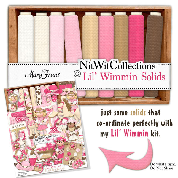 Bundled - Lil' Wimmin Collection - Click Image to Close