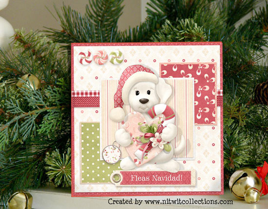 Nitty Bitty - Season's Grrreetings Mini Kit - Click Image to Close